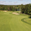 A view of a fairway at Glen Arbour Golf Course