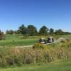 A view of a tee at Willow Valley Golf Course