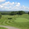 A view of the driving range and putting green at Fredericton Golf Club