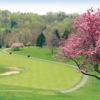 A splendid spring day view from Speidel Course at Speidel Golf Club from Oglebay Resort