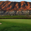 A view of a hole at Rivershore Golf Club