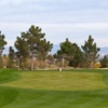 View of the 18th hole from the Eagle Crest Course at Golf Summerlin