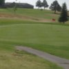 A view of a hole at Lusk Municipal Golf Course
