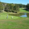 A view of the practice area and a fairway at Cacapon Resort State Park (Steve N Tina)
