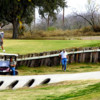 A view of a hole at Ed Rachal Memorial Golf Course