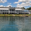 A view of the clubhouse at Skaneateles Country Club