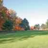 A fall day view from fairway #3 at Lakeview Golf & Pizza