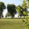 A view of a hole at Tekoa Golf Course