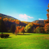 A fall day view from Cliftondale Country Club