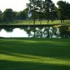 A view of hole #9 at Crewe Country Club