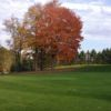A view of a green at Hemlock View Golf Course