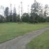 A view of a green protected by bunkers at Golf Club of Oregon (Neina Kauffman)
