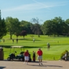 A view of the practice area at Hendricks Field Golf Course