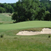 A sunny day view of a hole at Phillip J. Rotella Memorial Golf Course