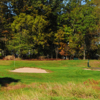 A view of the 13th green at Green Knoll Golf Course