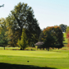 A view of the 17th green at Green Knoll Golf Course