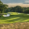 A view of a hole at Westchester Country Club