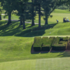 A view of a hole at Washington Golf & Country Club