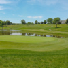 A view of the 17th green at TPC River Highlands