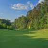 Looking back from the 13th hole from the Lakemont at Stone Mountain Golf Course