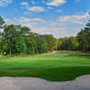 Looking back from the 16th hole from the Lakemont at Stone Mountain Golf Course