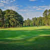 Looking back from the 13th hole from the Stonemont at Stone Mountain Golf Course