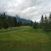 A view from Canmore Golf and Curling Club