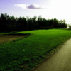 A view of the 8th green at Lac La Biche Golf and Country Club