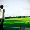 A view of the driving range at Mariana Country Club
