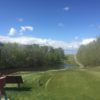 A view from tee #1 at Double Dam Golf Course