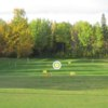 A view of the driving range at Gilwood Golf and Country Club