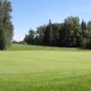 A view of a hole at Westlock Golf Club