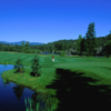A view of a green at St. Eugene Mission Golf Resort