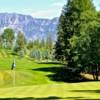 A view of a hole at Creston Golf Club