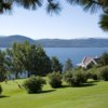 A view of a green at The Vintners from Lake Okanagan Resort