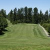 A view from a fairway at Cottonwood Golf Course