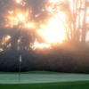 A view of a hole at Cottonwood Golf Course