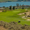 A view of a hole from Desert Gold at Osoyoos Golf Club