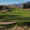 A view of a green at Park Meadows from Osoyoos Golf Club