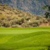 A view of a green at Osoyoos Golf Club