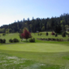 A view of green #4 at Pender Island Golf and Country Club