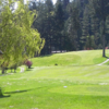 A view from a tee at Pender Island Golf and Country Club