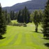 A view from a tee at Salmon Arm Golf Club