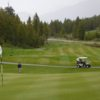 A view of a hole at Copper Point Golf Club