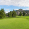 A view of the 6th hole at Windermere Valley Golf Course
