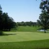 A sunny day view of a hole at Pleasant Valley Golf Club