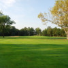 A view of the 3rd hole at Breezy Bend Country Club