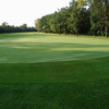 A view of green #8 at Breezy Bend Country Club