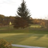 A view of the 7th green at Rossman Lake Golf Club