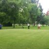 A view of a hole at Pitch & Putt from Club Medico